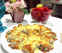 芝士燕麦焗粽子-高逼格超好吃!的做法