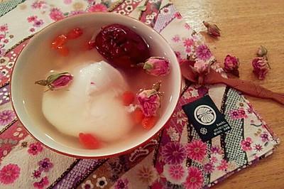 玫瑰酒酿蛋——冬季暖身
