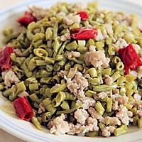 肉末酸豇豆的做法图解4