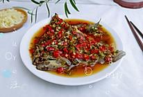 油蒜剁椒蒸鱼头的做法