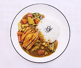 减肥也可以吃的鸡胸肉蔬菜咖喱饭的做法