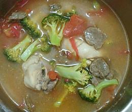 鸡腿丸子汤的做法