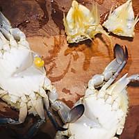 香辣梭子蟹烩年糕的做法图解6