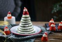 菠菜厚松饼圣诞树——宝宝辅食的做法