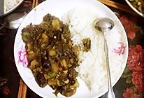 东北老菜—茄子酱(土豆炖茄子)的做法