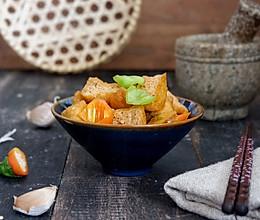 尖椒油豆腐的做法