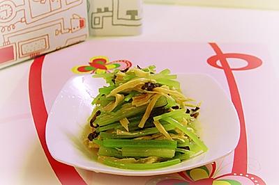 香芹拌腐竹