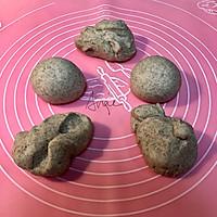 #硬核菜谱制作人#低卡黑麦豆乳贝果&萌物小太阳煎蛋的做法图解4