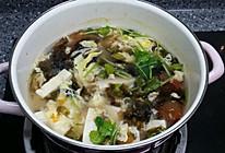 西红柿豆腐紫菜蛋花汤的做法