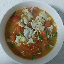 番茄鱼片汤(适合做月子餐)