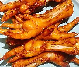 香辣烤鸡爪的做法