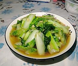 清炒白菜的做法