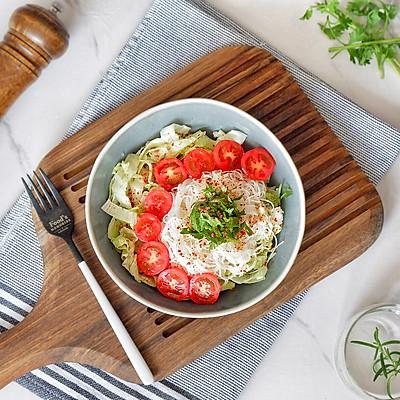 生菜米粉沙拉