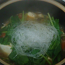 番茄酸汤斋菜煲