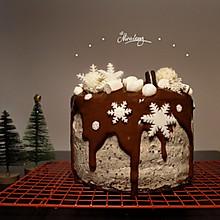 第一次就能成功的可可戚风蛋糕#令人羡慕的圣诞大餐#