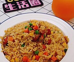 剩米饭吃不完?王俊凯炒饭简化版了解一下!全家都爱吃~的做法