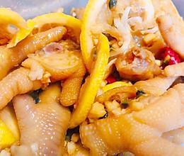 酸辣柠檬鸡爪的做法