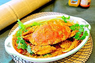 泰菜-泰式咖喱蟹建兴饭店复刻版
