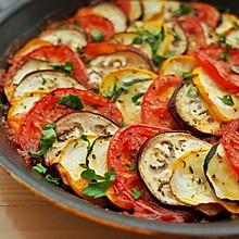普罗旺斯蔬菜杂烩(烤蔬菜沙拉)