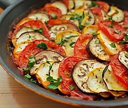 普罗旺斯蔬菜杂烩(烤蔬菜沙拉)的做法