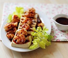 过节低负担【虾仁豆腐】健康低脂的宴客菜的做法