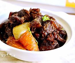 胡萝卜土豆烧牛腩#宴客拿手菜#的做法