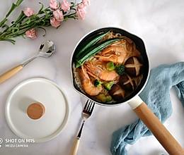 香菇海鲜面的做法