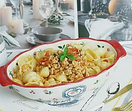 肉酱贝壳意面––在家也能吃到地道的意大利面的做法