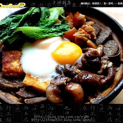 腊肠香菇煲仔饭