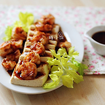 过节低负担【虾仁豆腐】健康低脂的宴客菜