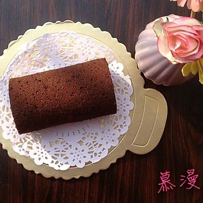浓香可可蛋糕卷