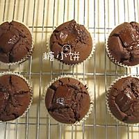 【巧克力碎块杯子蛋糕】的做法图解6