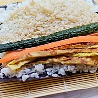 芝香寿司卷#丘比沙拉汁#的做法图解6