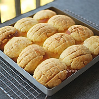 酥皮面包的做法图解10