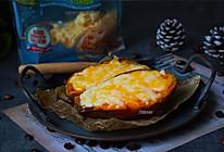 #我们约饭吧# 芝士焗红薯的做法