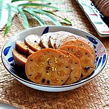 #快手又营养,我的冬日必备菜# 红糖糯米藕