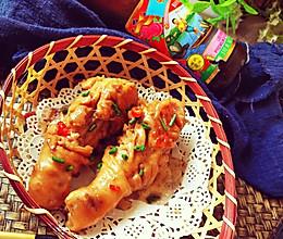 #李锦记旧庄蚝油鲜蚝鲜煮#蚝油↗鸡腿的做法