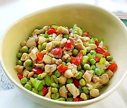豌豆炒鸡的做法