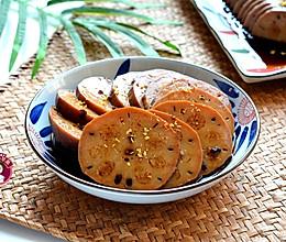 #快手又营养,我的冬日必备菜# 红糖糯米藕的做法