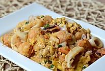 马拉盏海鲜炒蛋——极具异域风味的鸡蛋做法的做法