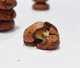 重巧克力麻薯软曲奇#令人羡慕的圣诞大餐#的做法