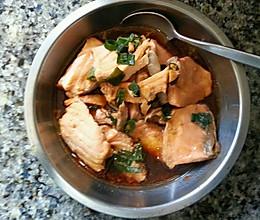 清淡宝宝餐蒸三文鱼的做法