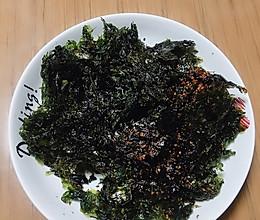 网红紫菜海苔脆的做法