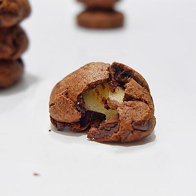 重巧克力麻薯软曲奇
