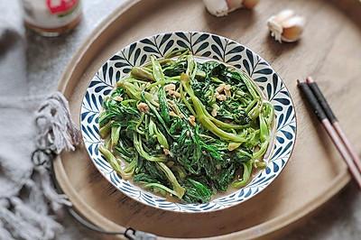 蒜蓉腐乳炒通菜(空心菜)
