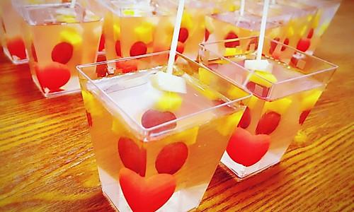 水果果冻的做法