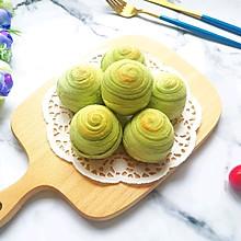 螺旋绿豆酥