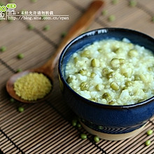 小米绿豆粥