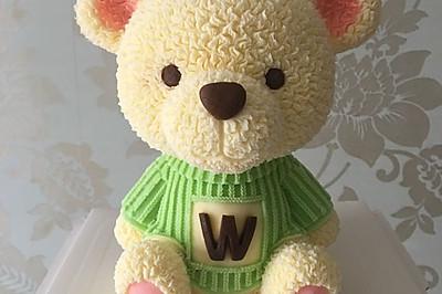 3D立体慕斯—8寸小熊