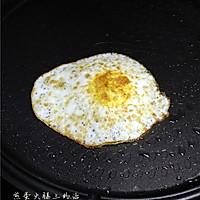 煎蛋火腿三明治的做法图解4